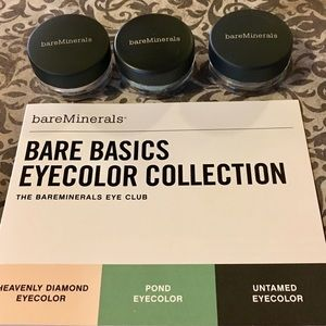 $25 Bare Basics Eye Collection Trio—set sale only